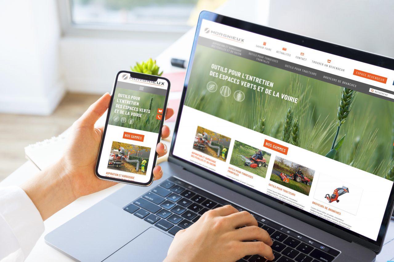 site web responsive - agence web vienne